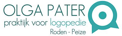Logopedie Roden & Peize – Logopediepraktijk O.M. Pater Logo
